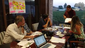 diseño ruta del vino bodegas triana